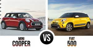 Fiat 500 Vs Mini Cooper The Battle Of The Quot Boxes Quot Mini Cooper Vs Fiat 500