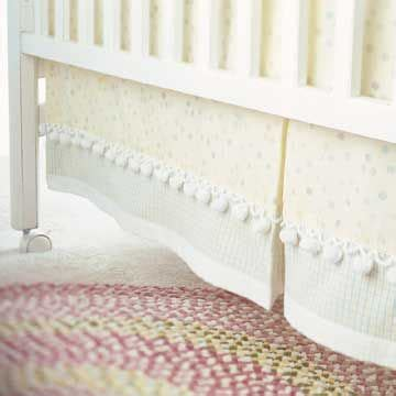 Crib Bed Skirt Pattern 1000 Images About Bed Skirts On Pinterest Lace Dust Ruffle And Crochet Lace