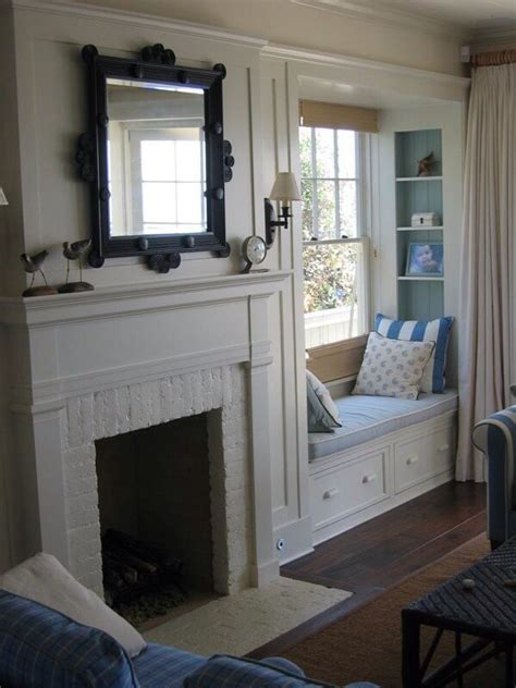 fireplace seating fireplace window seat house renovation ideas pinterest