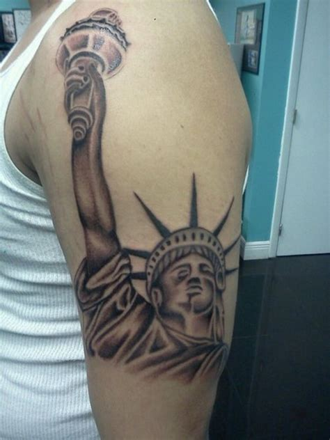 lady liberty tattoo statue of liberty tattoos designs ideas and meaning