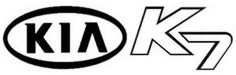 Kia Corporate Number Kia K7 Trademark Of Kia Motors Corporation Serial Number
