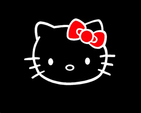 wallpaper hello kitty black and white hello kitty gif on tumblr
