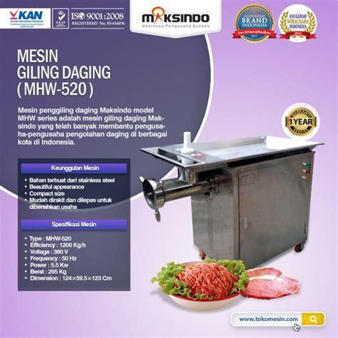 Giling Daging 42 mesin giling daging toko mesin maksindo