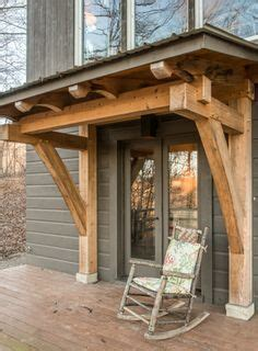 beautiful petite recycled porch adds  sense  entry