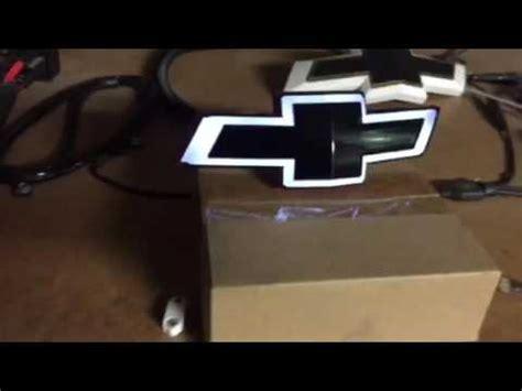 V Tie Led Light Bed L 2014 2016 camaro front lighted bow tie