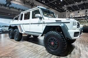 mercedes jeep 6 wheels land rover defender challenged kahn designs 6 wheel