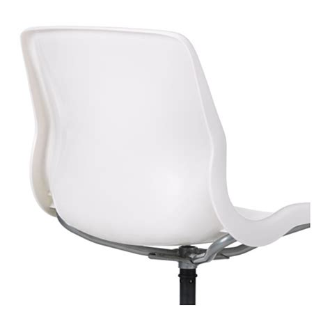 Ikea Snille Swivel Chair You Sit Comfortably Since The White Swivel Chair Ikea