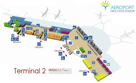 Naia Terminal 1 Floor Plan image gallery nice airport map