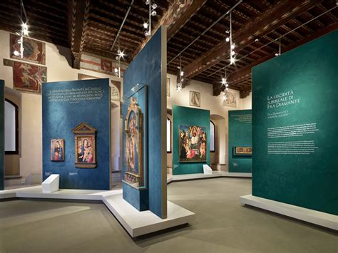 museum exhibition layout software from donatello to lippi pretorio palace museum prato