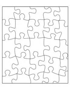 blank jigsaw template best photos of jigsaw puzzle template 8 5x11 10