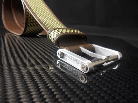 Ralliant Pin Belt Carbon our belt made with leather and hybrid of carbon fibre and kevlar can be also be wear on