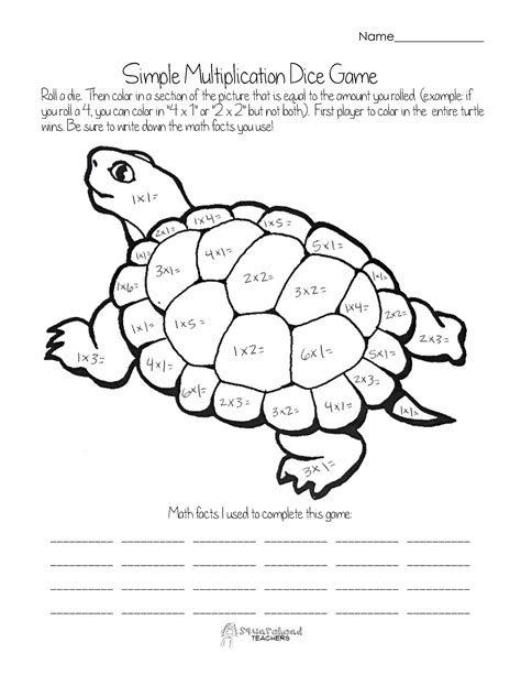 easy multiplication coloring pages multiplication squarehead teachers page 2