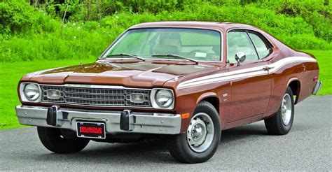 plymouth duster 360 1974 plymouth duster 360 hemmings motor news