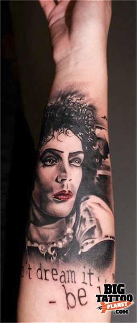 frank n furter tattoo 45 best horror tattoos images on