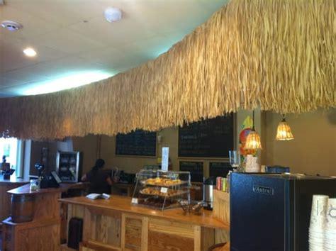 Tiki Hut Coffee Indoor Tiki Hut Coffee Counter Yelp