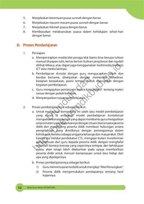 Buku Psikologi Pembelajaran Pendidikan Agama Islam Berbasis Integrasi pendidikan agama islam dan budi pekerti buku guru kls 8