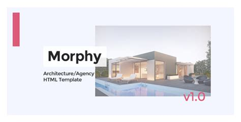 morphy architecture agency html template themekeeper com