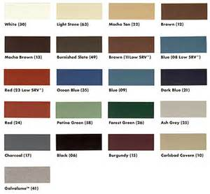 metal sales color chart bar c
