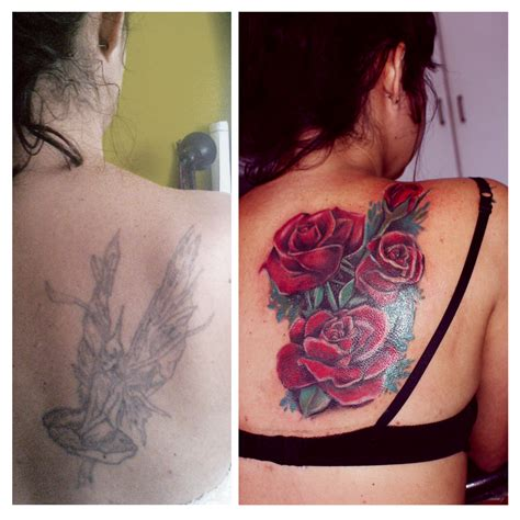rose tattoo coverups cover up roses ideas