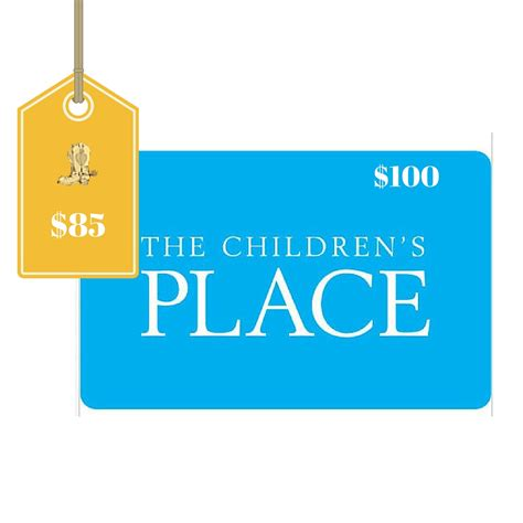Does Macy S Sell Third Party Gift Cards - 100 the children s place gift card only 85
