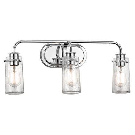 kichler lighting 45460oz braelyn 4 light bath fixture in kichler braelyn chrome three light bath sconce on sale