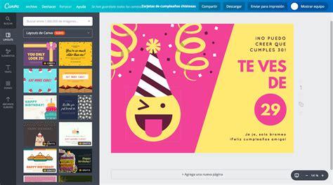 imagenes gratis chistosas de cumpleaños crea tarjetas de cumplea 241 os chistosas online gratis canva