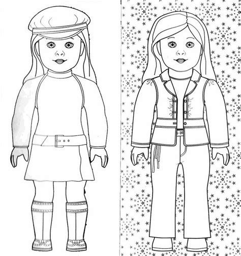 American Doll Coloring Page free coloring pages of american doll