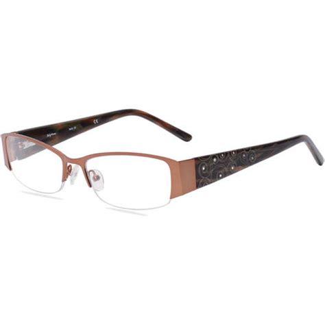 sally hansen s eyeglass frames brown walmart