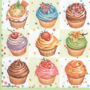 Diy Wood Project Ideas by Decoupage Paper Napkins Of Christmas Cupcake Potpourri On