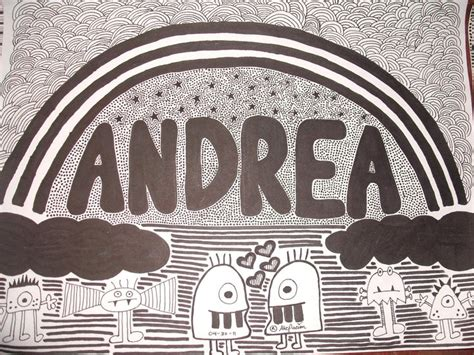 Doodle Andrea By Andreakris On Deviantart