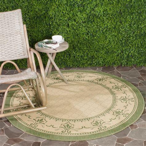 safavieh cy0901 1e06 courtyard indoor outdoor area rug lowe s canada safavieh courtyard olive 6 ft 7 in x 6 ft 7 in indoor outdoor area rug cy0901