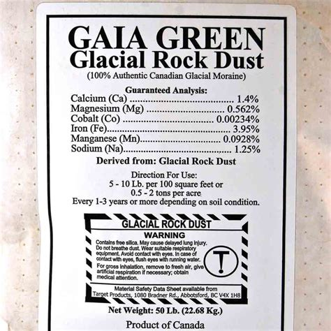 What Is Rock Dust For Gardens Songaia Community The Garden
