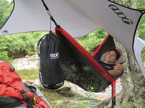 Eno Onelink Sleep System Hammock Shelter Sub7 eagles nest outfitters eno reactor hammock charcoal osograndeknives