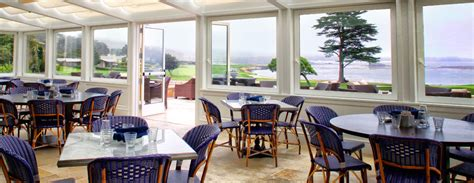 bench restaurant pebble beach the bench casual sophisticated dining overlooking the