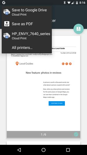 how to print from your android phone or tablet with cloud print pcworld