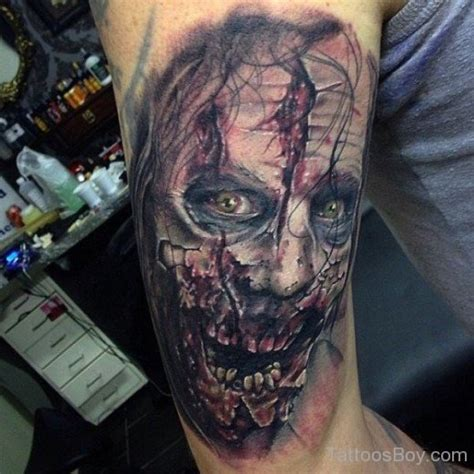 zombie tattoo gun zombie tattoos tattoo designs tattoo pictures