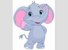 Cute elephant clipart image | GiRaFfE & eLePhAnT cLiP ArT ... Elephant Printable Clipart