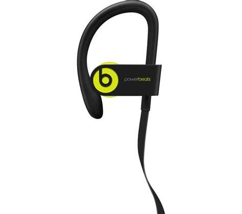 Powerbeats3 Wireless Sport Earphone Yellow beats by dr dre powerbeats3 wireless bluetooth headphones shock yellow deals pc world