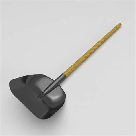 3ds Shovel garden tools pack 3d 3ds