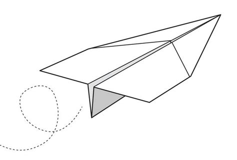 How To Make Paper Aeroplanes - images for gt paper plane drawing