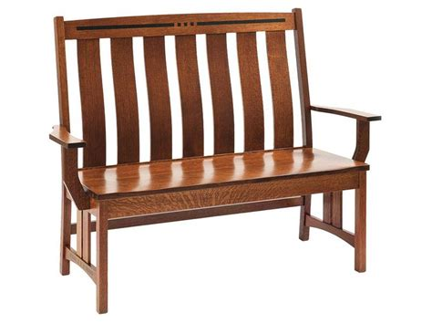 hall seats and benches hall seats and benches amish furniture by brandenberry