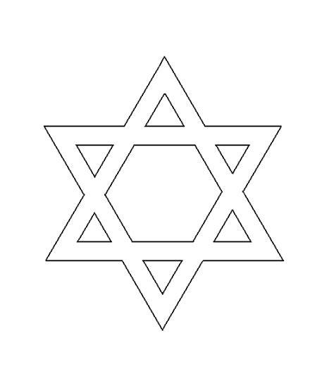 star of david stencil stars stencils template by sunflower33 christian symbols for chrsmon patterns