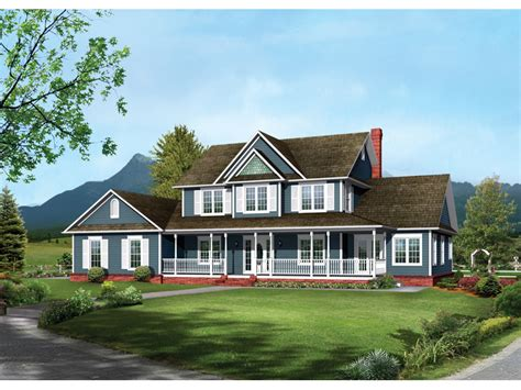bloombety country large farmhouse plans large farmhouse bennington country farmhouse plan 068d 0016 house plans