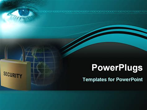 security templates image represents global security powerpoint template
