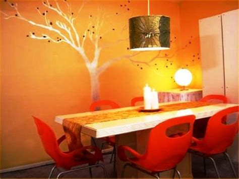 Bright Orange Room by Braxton And Yancey Orange Rooms And Home D 233 Cor