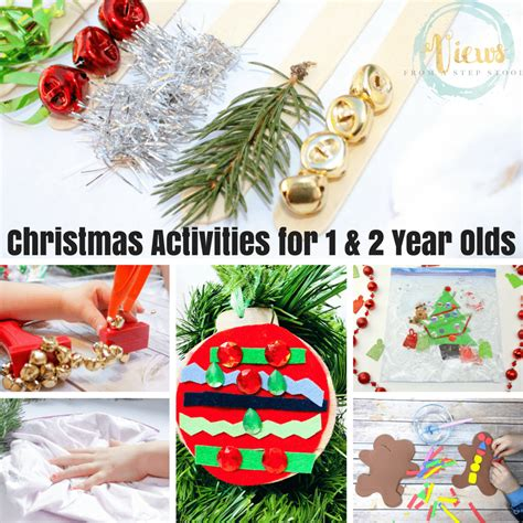 christmas crafts for 2 year olds 30 activities for 1 and 2 year olds views from a step stool
