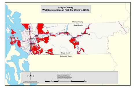 Wildfire On The Skagit wildfire related maps skagit conservation district