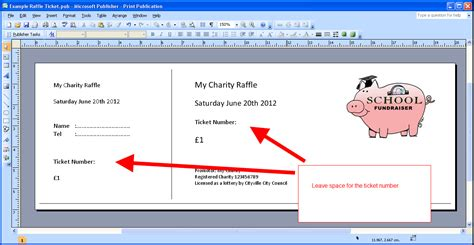 Free Ticket Maker Raffle Template Cake Ideas And Designs Microsoft Word Ticket Template