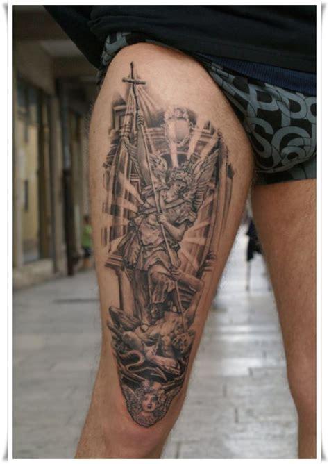 tattoo st michael angel 30 perfect st michael tattoo design ideas