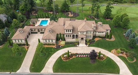 Luxury Tuscan House Plans 4 million country club mansion in aurora oh homes of